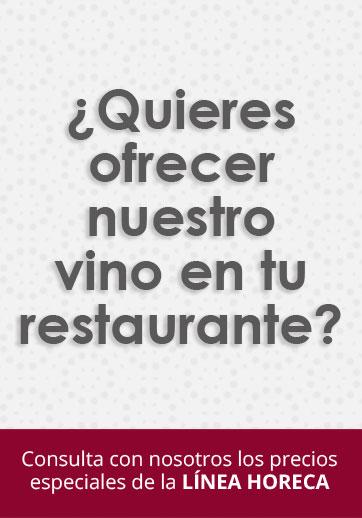¿Quieres ofrecer nuestro vino en tu restaurante?