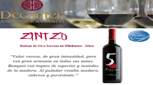 Premio Decanter 5.Zintzo