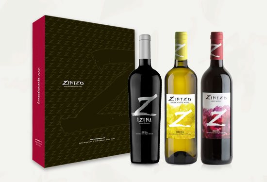 pack 3 botellas zintzo
